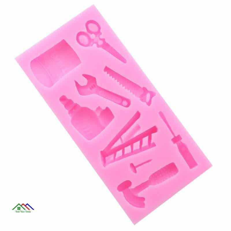 Electric Drill Hammer Saw Hardware Tools Mold Kitchen Silicone Molds