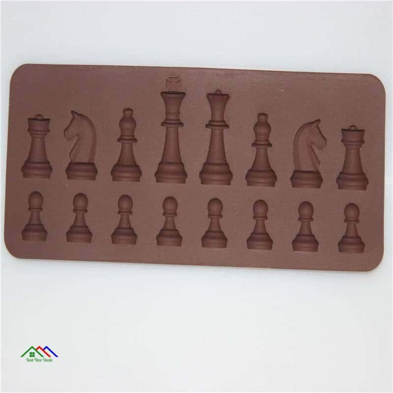 3D Chess Silicone Mold Shape Top Selling Products New Arrivals On Sale Kitchen Silicone Molds