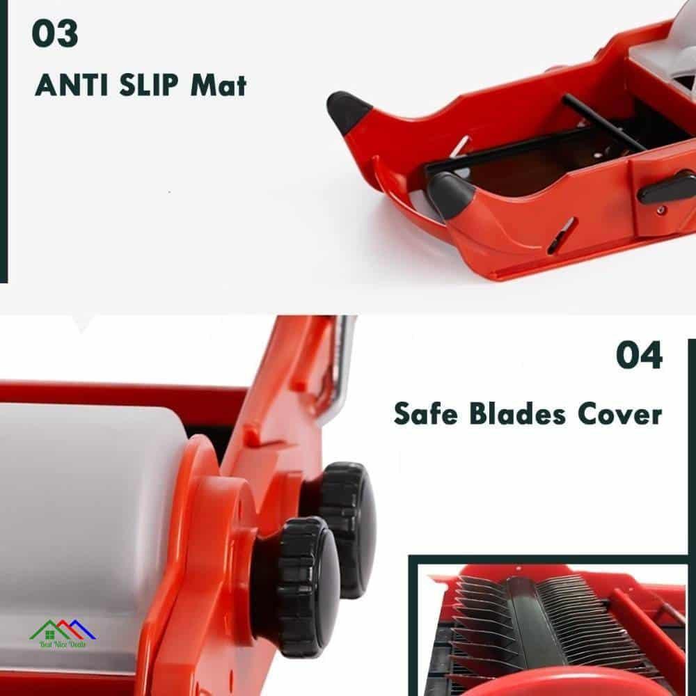 Multifunctional Adjustable V Blade Mandolin Slicer Kitchen Kitchen Slicers
