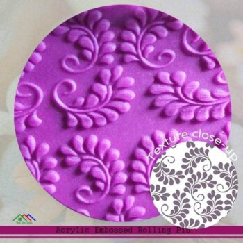 Embossed Non-Stick Roller Flower Shape Kitchen Rolling Pins