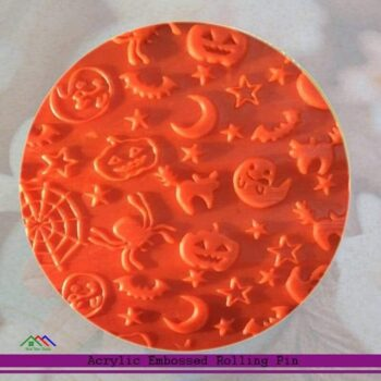 Embossed Halloween patterned Rolling Pin Kitchen Rolling Pins