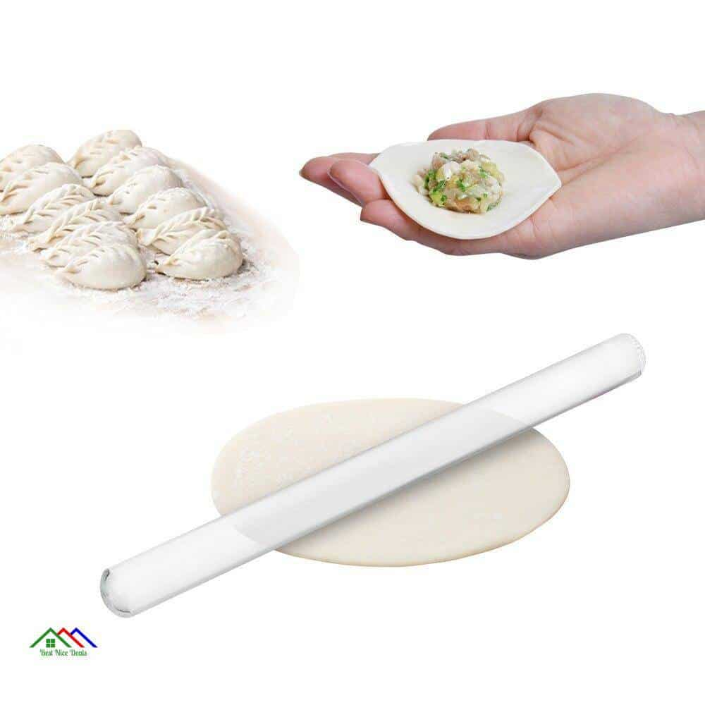 Fondant Cake Cookies Acrylic Rolling Pin Kitchen Rolling Pins