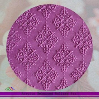 Embossing Rolling Pin With Design Pattern Decorating Kitchen Rolling Pins