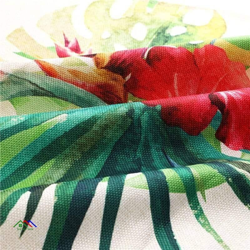 Cactus Patterned Design Linen Algodão Apron On Sale Kitchen Aprons