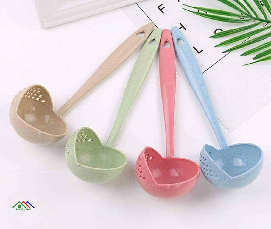 Soup Spoon Long Handle Kitchen Strainer On Sale Kitchen Colanders