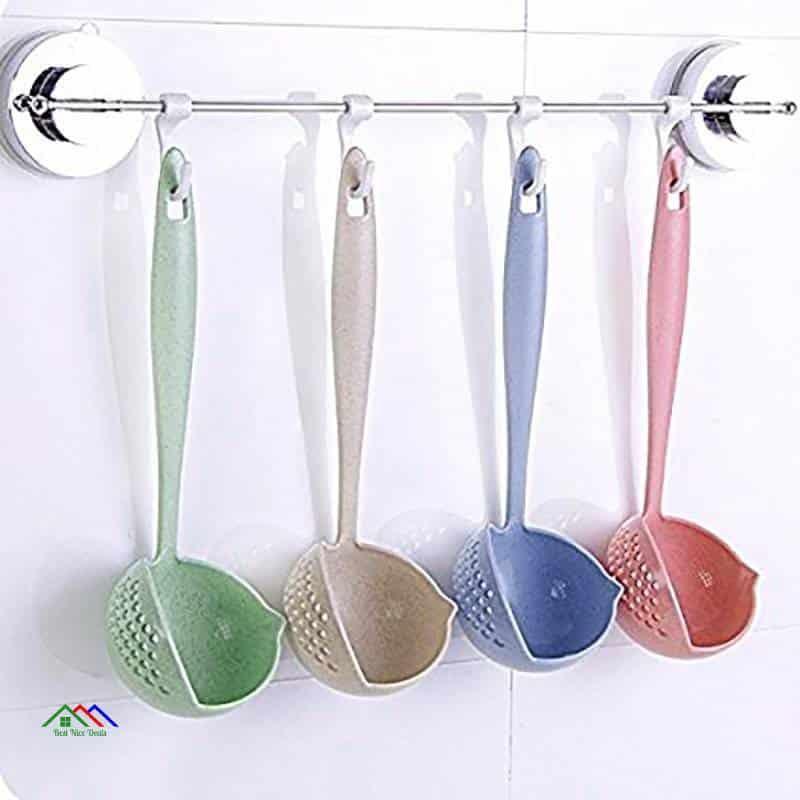 Patterned Design Plastic Spoon Colander On Sale Kitchen Colanders