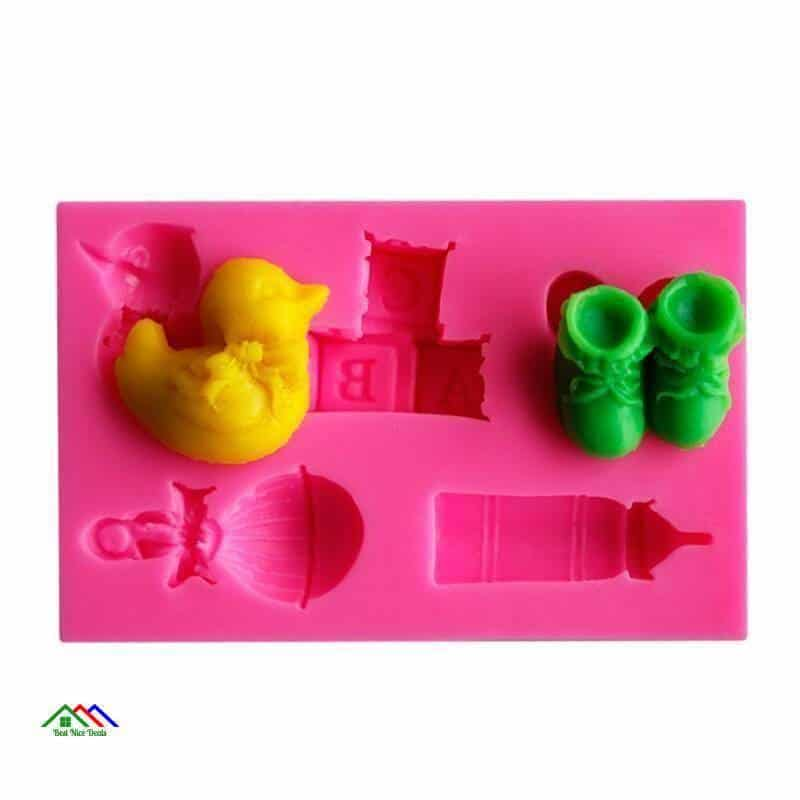 Bottles Duck Letters Shoes Silicone Mold On Sale Kitchen Silicone Molds