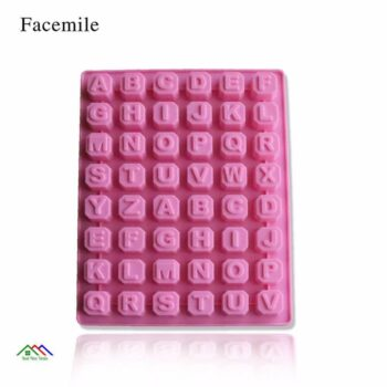 Letter Shape Fondant Decorating Silicone Mold On Sale Kitchen Silicone Molds
