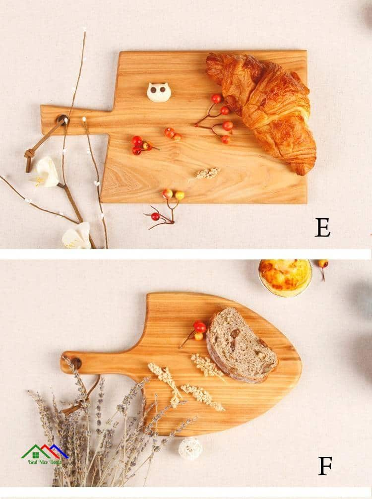 Solid Wooden Cutting Boards Chopping Block Kitchen Kitchen Slicers