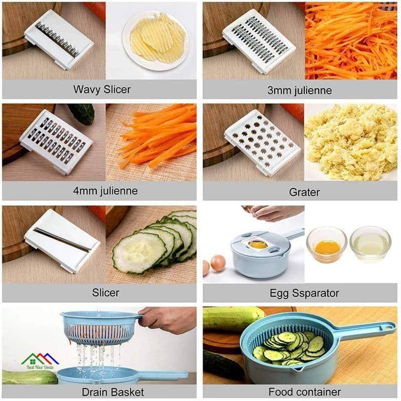 Multifunction Round Mandolin Vegetable Slicer Kitchen Kitchen Slicers