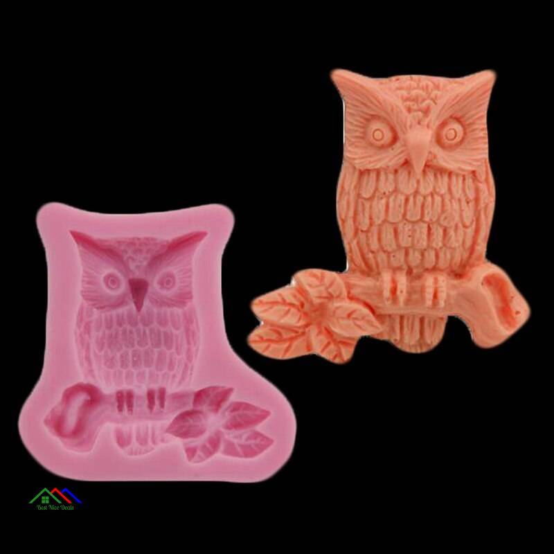 3D Owl Shaped Silicone Mold On Sale Kitchen Silicone Molds