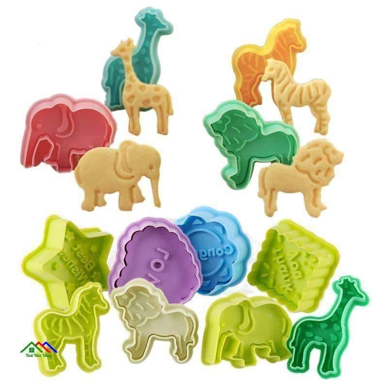 Animal Shaped Cookie Molds On Sale Kitchen Silicone Molds
