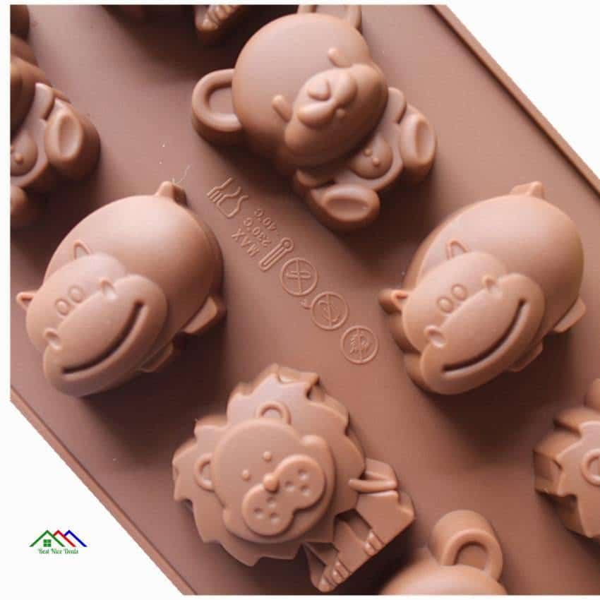 Animal Faces Silicone Mold On Sale Kitchen Silicone Molds