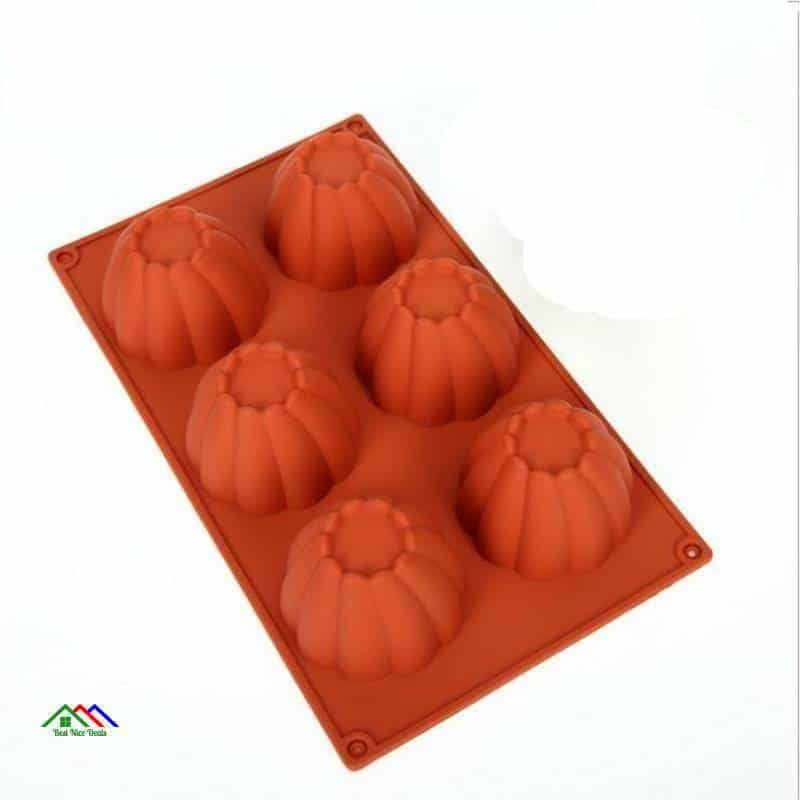 3D Muffin Brownie Silicone Mold On Sale Kitchen Silicone Molds