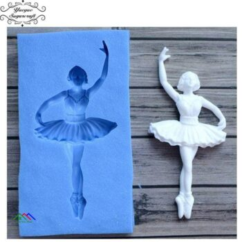 Ballerina Silicone Mold Cake Decorating On Sale Kitchen Silicone Molds