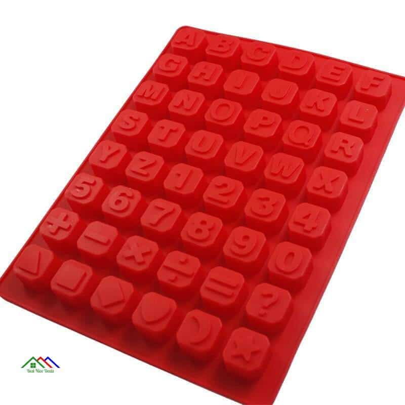 Alphabet Christmas Silicone Mold On Sale Kitchen Silicone Molds