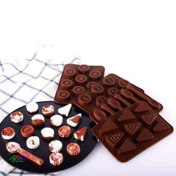 Mini Chocolate Bars Silicone Mold Kitchen Silicone Molds