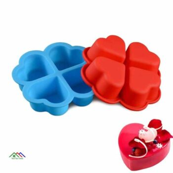 Cupcake Heart Shape Silicone Mold On Sale Kitchen Silicone Molds
