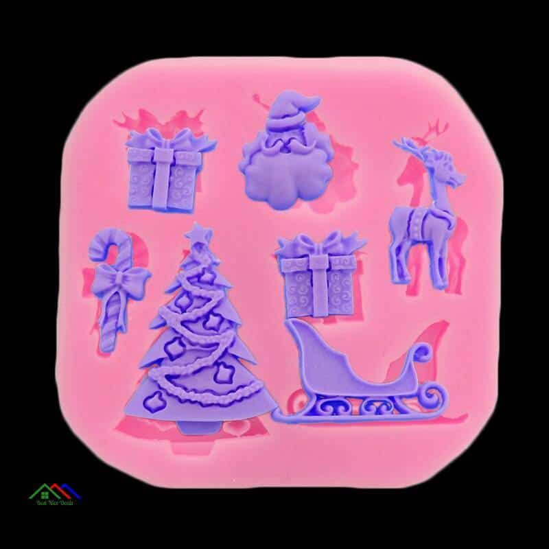 Christmas Series Silicone Mold Cake Decoration On Sale Kitchen Silicone Molds
