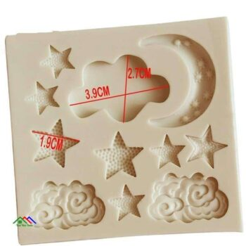 Cloud Moon Star Silicone Mold Cake Decorating On Sale Kitchen Silicone Molds