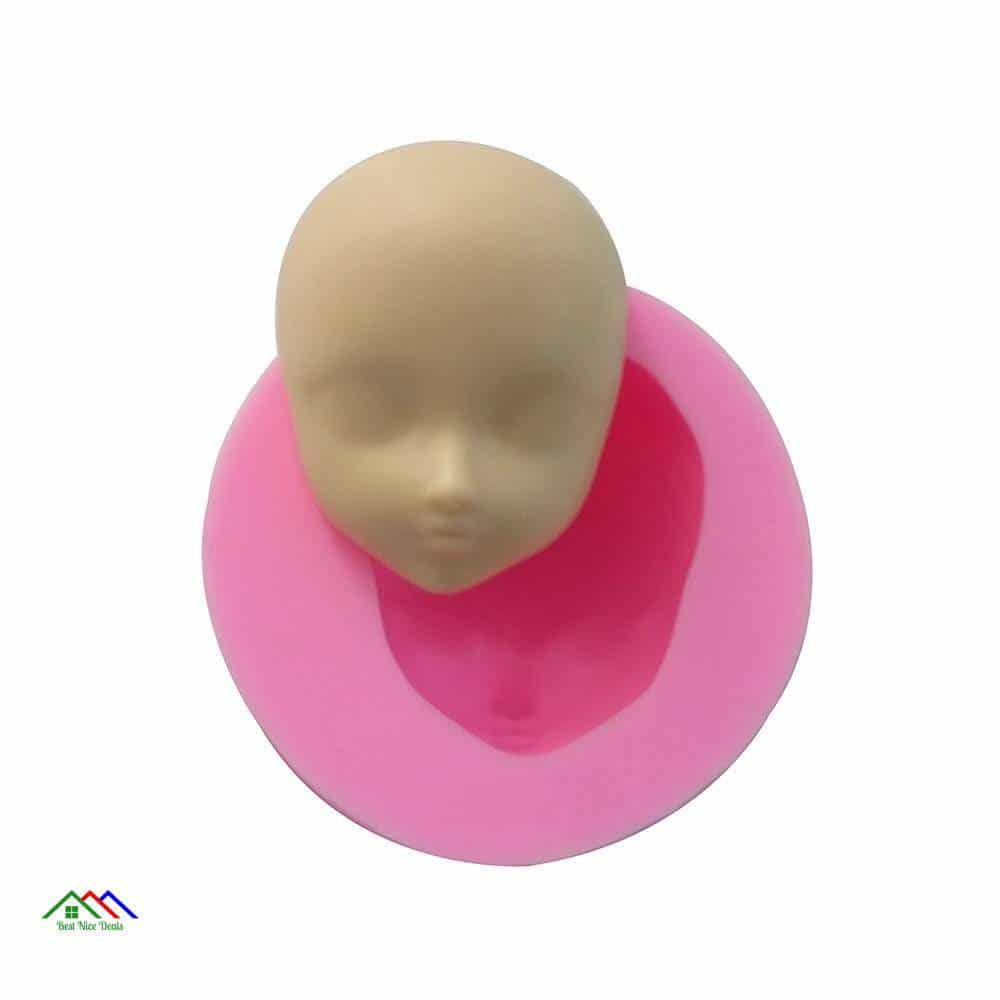 Creative Face Silicone Mold On Sale Kitchen Silicone Molds