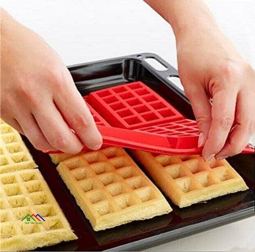 Cavity Waffles Pan Baking Silicone Mold On Sale Kitchen Silicone Molds
