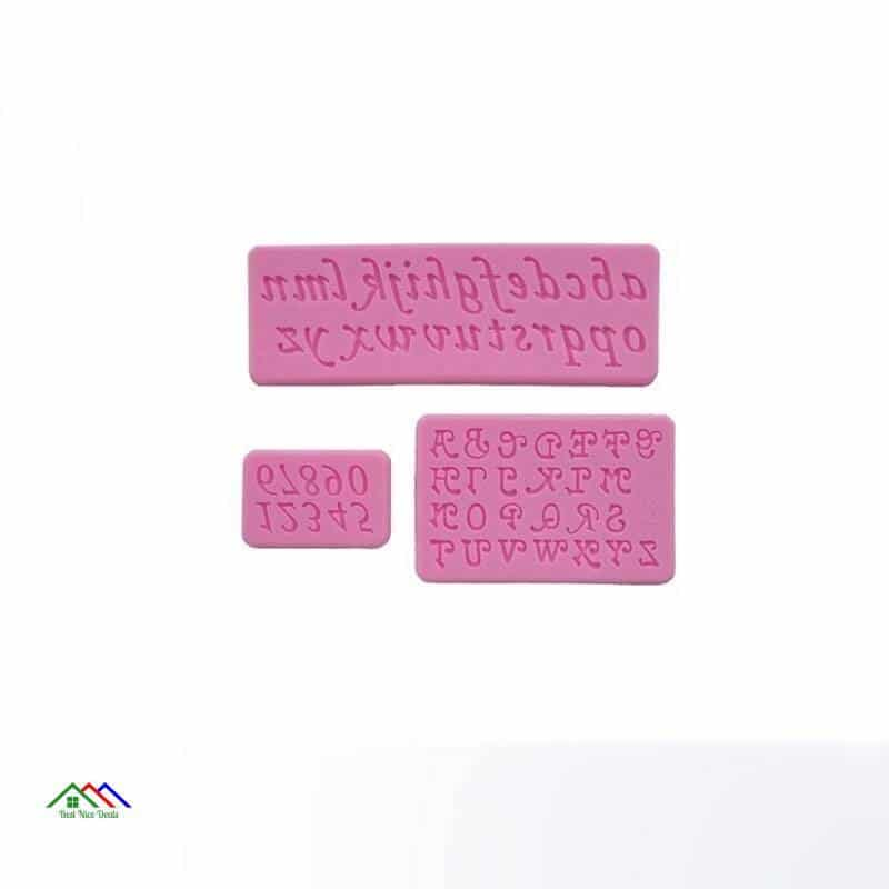 Letters and Numbers Silicone Mold On Sale Kitchen Silicone Molds