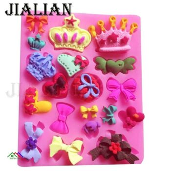 Crowns Bows Shapes Silicone Mold On Sale Kitchen Silicone Molds