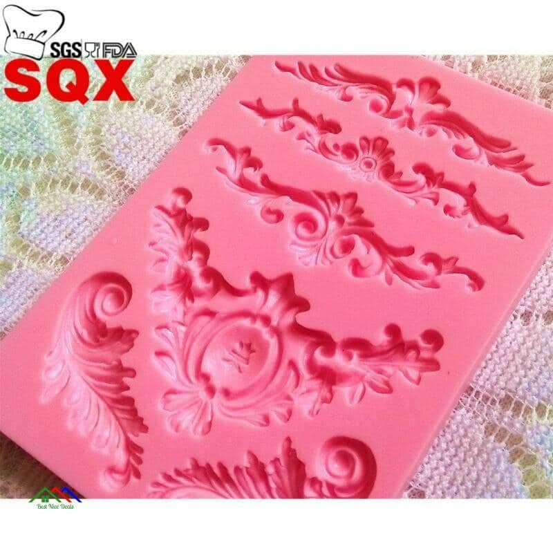 Snowflake Shaped Silicone Mold On Sale Kitchen Silicone Molds