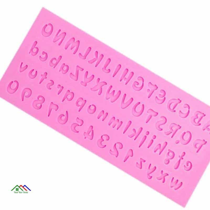 3D Letters and Numbers Shape Silicone Mold On Sale Kitchen Silicone Molds