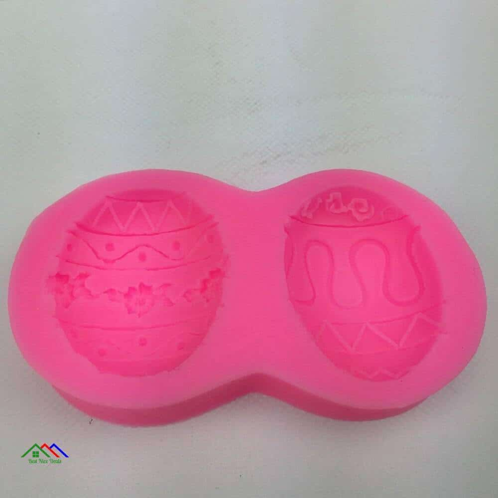 3D Easter Eggs Shape Silicone Mold On Sale Kitchen Silicone Molds