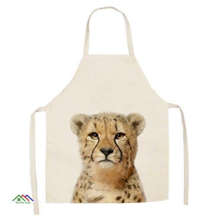 Cute Animals Printed Kitchen Apron On Sale Kitchen Aprons