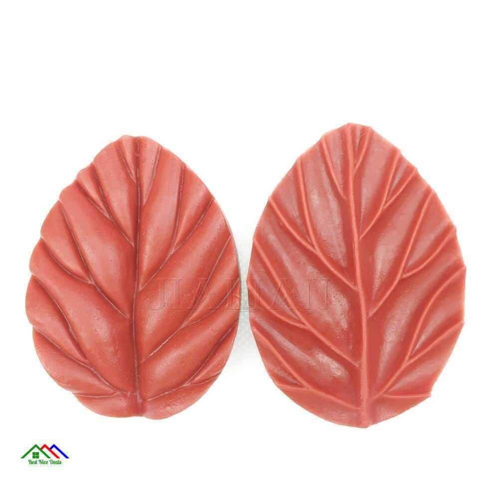 Leaf Shaped Cake Decorating On Sale Kitchen Silicone Molds