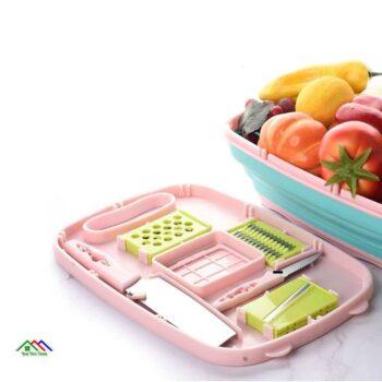 Multifunction Cutting Board Grater Foldable Colander New Arrivals On Sale Kitchen Colanders Kitchen Slicers