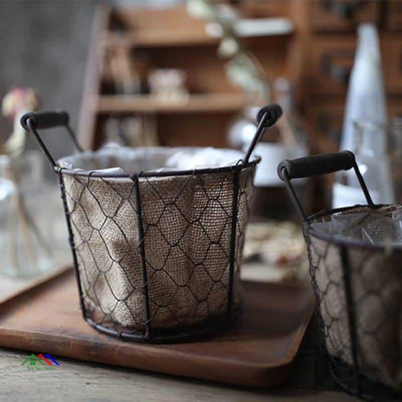 Retro Kitchen Flower Photography Basket On Sale Kitchen Retro Plates