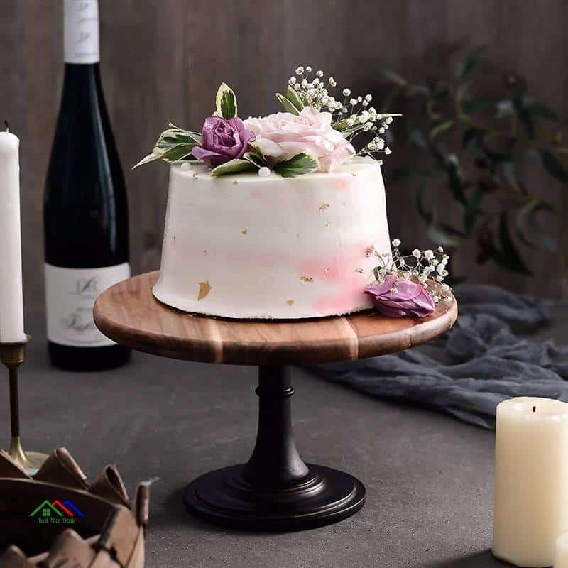 High Feet Decorative Desserts Plate On Sale Kitchen Retro Plates