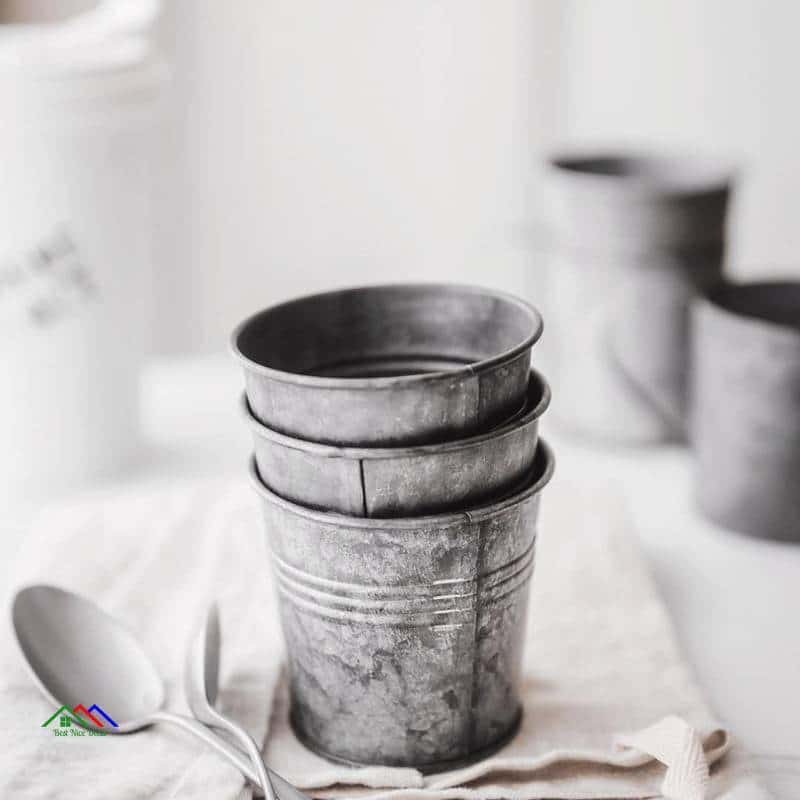Retro Drinkware Wrought Iron Mug On Sale Kitchen Retro Plates