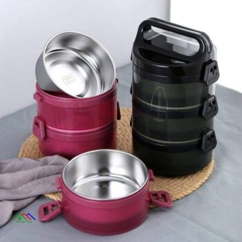 Circle Patterned Kitchen Food Storage Containers On Sale Kitchen Lunch Box