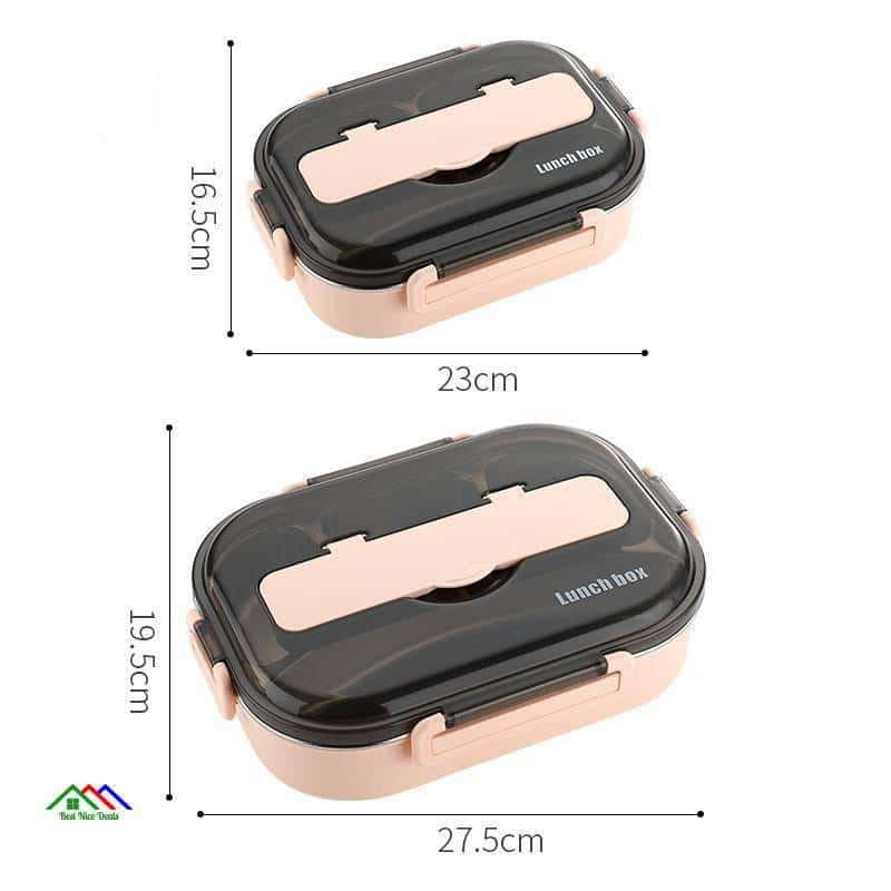 Japanese Style Stainless Steel Lunch Box On Sale Kitchen Lunch Box