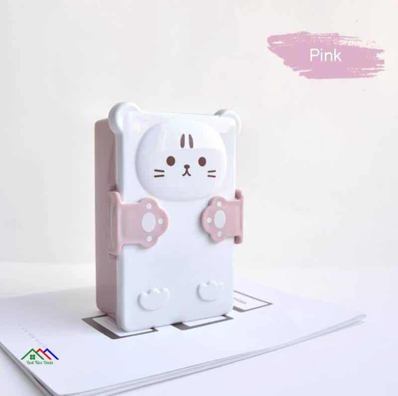 3D Kitten Plastic Sandwich Lunch Box On Sale Kitchen Lunch Box