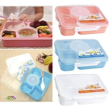 Plastic Lunch Box Office Picnic School Kitchen Lunch Box