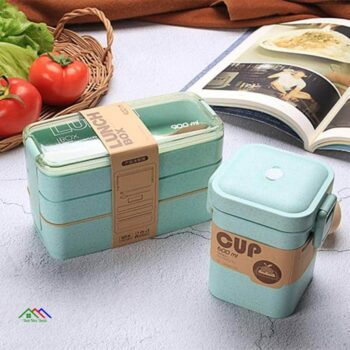 3 Layers Healthy Material Lunch Box Kitchen Lunch Box