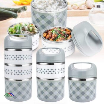 Portable Stainless Steel Thermal For Office Lunch Box Kitchen Lunch Box