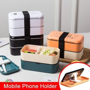 Design Plastic Packing Food Lunch Box Kitchen Lunch Box