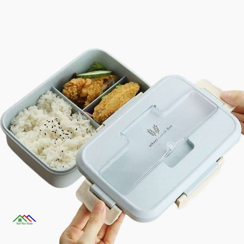 Dinnerware Food Storage Container Lunch Box Kitchen Lunch Box