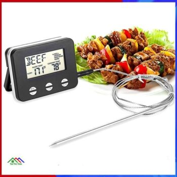 LCD Digital Probe Food Cooking Thermometer On Sale Kitchen Kitchen Thermometers
