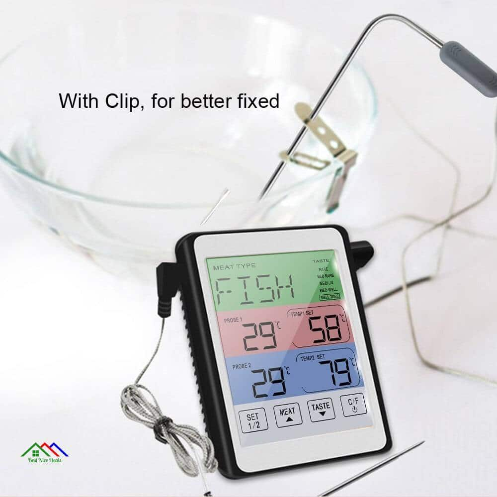 BBQ Cooking Food Kitchen Digital Oven Thermometer Kitchen Kitchen Thermometers