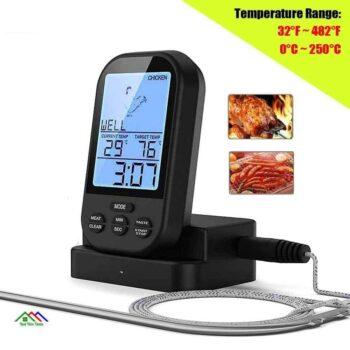 Remote BBQ Kitchen Wireless Digital Meat Thermometer On Sale Kitchen Kitchen Thermometers