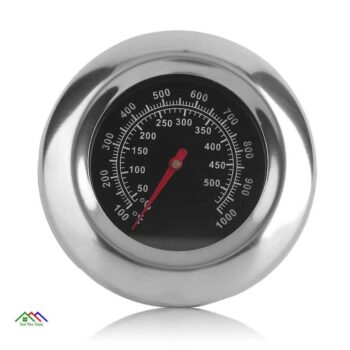 BBQ Grill Stainless Steel Thermometer Kitchen Kitchen Thermometers