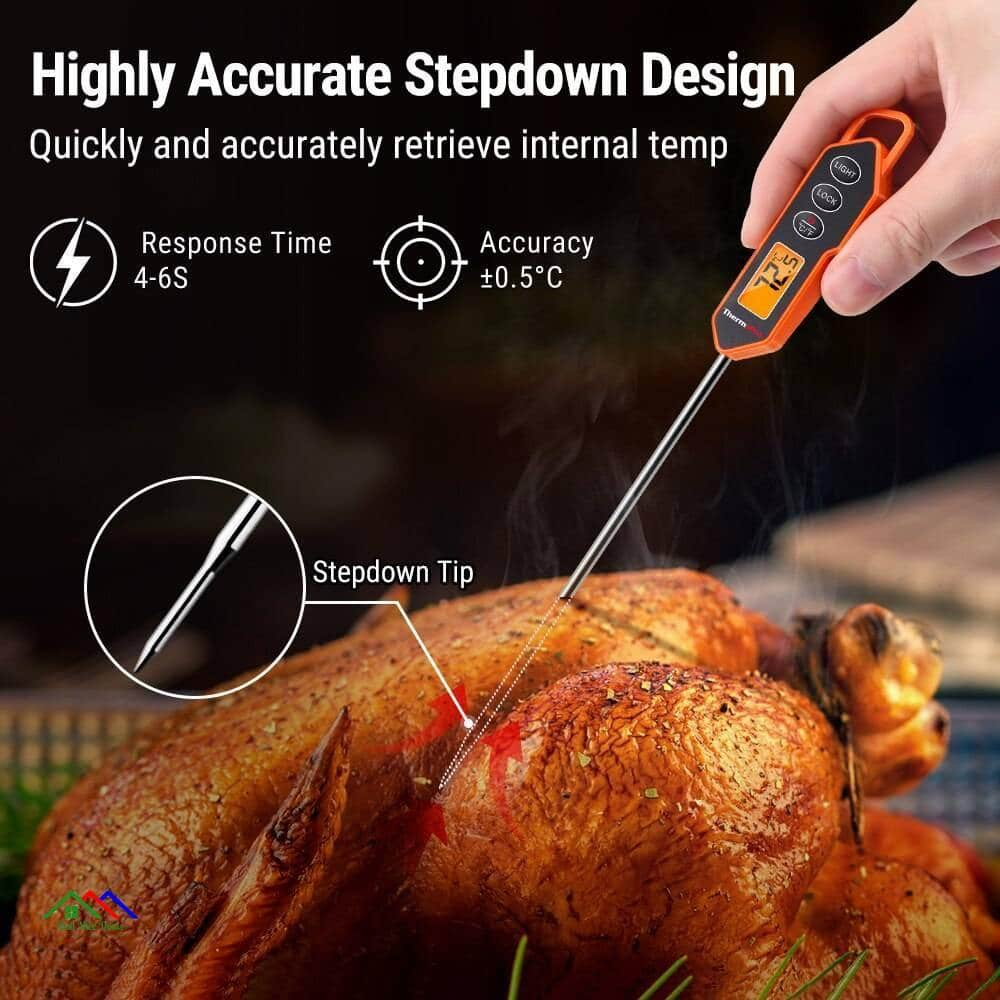 Backlight LCD Display Kitchen Thermometer Kitchen Kitchen Thermometers
